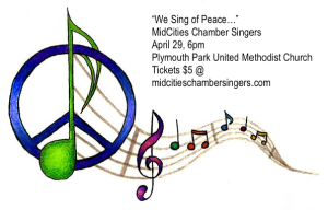 We Sing of Peace promo